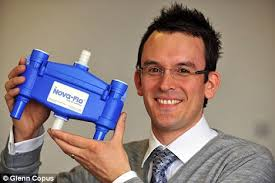 James Barnham. Happy: James Barnham holds his gadget that will be fitted at The Dorchester. And, if successful, it could lead to a contract across the whole ... - article-0-040D064E000005DC-603_468x312