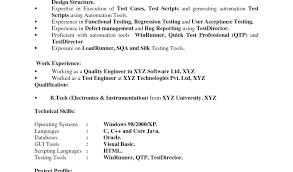 Tester Resume Samples Ideas Manual Testing Resume Sample And Download By Tablet Desktop