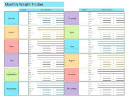 Weight Loss Tracking Spreadsheet Free Printable Weight Loss Chart Template Office Challenge Cheap