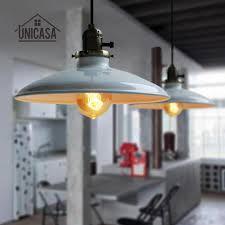 cord pendant mini iron lighting industrial light fixture white shade ceiling lamp living room kitchen led vintage pendant fixture industrial pendant lamp