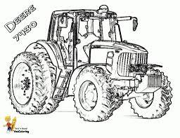 Kleurplaten Tractor Fendt