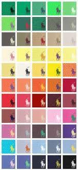 Lacoste Polo Shirt Color Chart Ralph Lauren Polo Shirts For Men Color Chart Ralph Lauren
