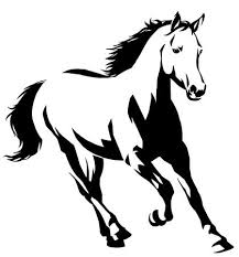 28058 Wild Horses Stock Vector Illustration And Royalty Free Wild