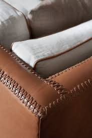 hand stitched leather furniture