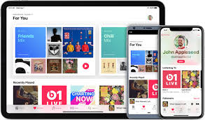 Listen To Music And More In The Apple Music App Apple Support