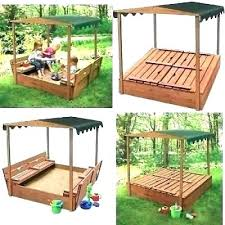kidkraft sandbox canopy outdoor children retractable beach cabana with plans badger replacement basket w