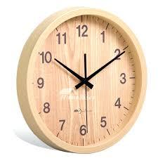 8 wall clock inch wall clock 8 round wood rustic simple silent bedroom 8 diameter wall 8 wall clock
