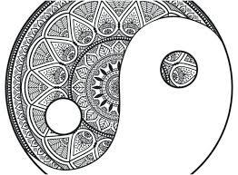 Free Printable Mandalas To Color For Adults Easy Mandala Coloring