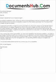 Insurance Agent Cover Letter Lovely Sample Professional Letter