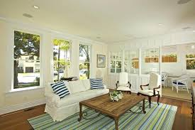 beach house area rugs coastal with style living room and coffee table striped furniture s nyc