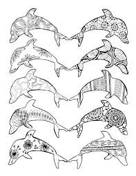 Small Picture Dolphins Coloring Pages For TeenagersColoringPrintable Coloring