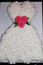Great cake for bridal shower Wedding Dress cupcake cake
