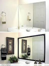 apartment bathroom ideas. Edge: Frames For Bathroom Mirrors Apartment Ideas
