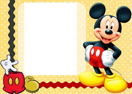 Free Printable Custom Mickey Mouse Baby Shower Invitation With