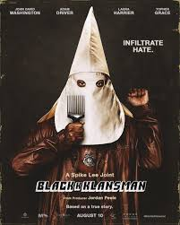 The First Blackkklansman Poster Is Something Else Birth Movies Death