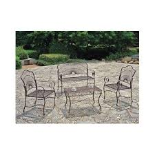deck wrought iron table. Outdoor Patio Furniture Set Wrought Iron Loveseat Sets Deck Table Chairs Bench #Traditional P