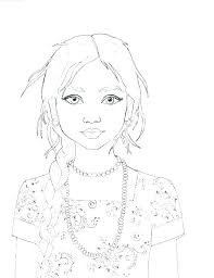 Fresh Fashion Design Coloring Pages And Free Printable Fashion