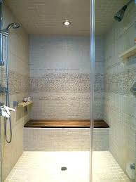 built in shower seat incredible showers bench comfortable sofa theme with within 7