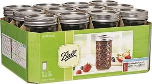Ball Deluxe Quilted Crystal Jelly Jar, 12 Oz &  Adamdwight.com