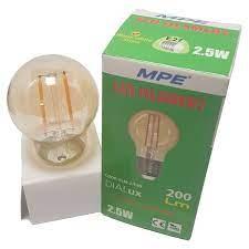 Bóng đèn LED dây tóc Edison MPE 2.5W - E27 Ø45 - Ánh sáng vàng 2700K |  undefined