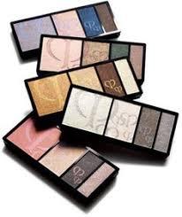 clé de peau beauté eye color quad case on style makeup palette eyeshadow