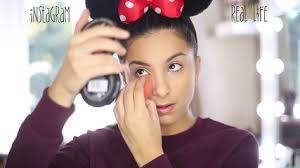 insram vs real life makeup h9eb9onllvs