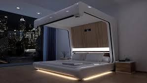 somnus neu bedbest futuristic bedroom ideas ...