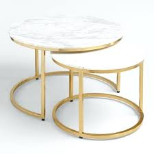 side table set of 2 hygena cubic
