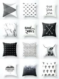 gray and white pillows couch