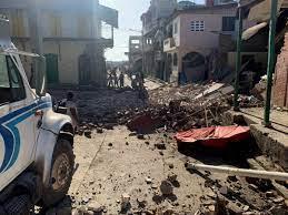 Haiti earthquake- dwell: A minimum of ...