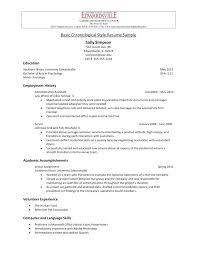 American Curriculum Vitae Format American Cv Template Medpages Co