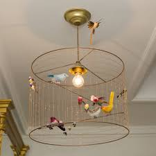 creative home design delightful kitchen dining cute yellow birdcage chandelier with birds decor with delightful
