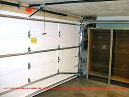 low clearance garage door opener zero