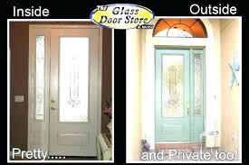 front door glass replacement inserts replace insert doors