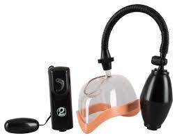 Купить <b>женская вакуумная помпа</b> с вибрацией и грушей, цены в ...