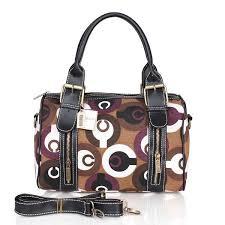 Coach Poppy In Signature Medium Coffee Luggage Bags CEA