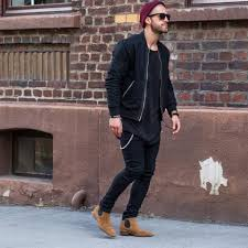 Traditional broguing and a dark brown side gusset gives character. 21 Cool Men Outfit Ideas With Chelsea Boots Styleoholic