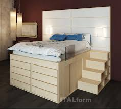 Impero Bed with 8 drawers