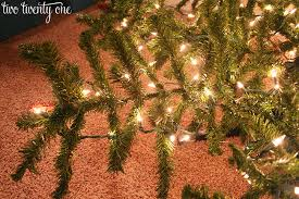 How To String Lights On A Christmas Tree