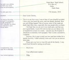 Grammar Clinic Letter Writing Semi Formal Letter Passnownow Com