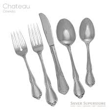 Oneida Stainless Patterns Classy Chateau By Oneida Stainless Flatware For Less