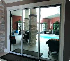 how do you remove a sliding glass door panel cost to replace with french doors ng