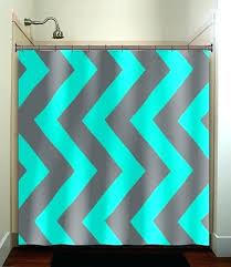 grey chevron shower curtains. Grey Chevron Shower Curtain Teal And Aqua Blue  Gray Vertical Curtains