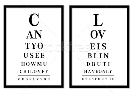Eye Chart Pictures Vector Vector Illustration Beaubelle
