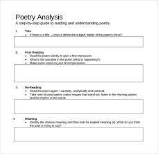 Pin By Al Stout On English Stuff Poem Analysis Essay