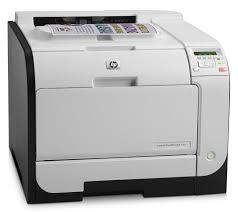 Hp Laserjet Pro M451nw Wireless Color Printer White