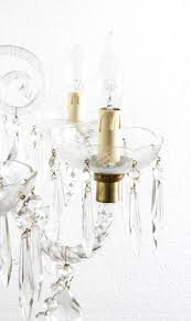superb vintage venetian eight light crystal chandelier for 1