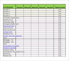 budget spreadsheet printable 7 bi weekly budget template