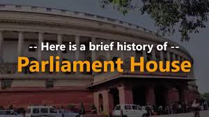 Indian Parliament Design A Brief History Of Parliament House India