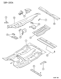 1996 dodge ram 1500 floor pan diagram 00000ewm